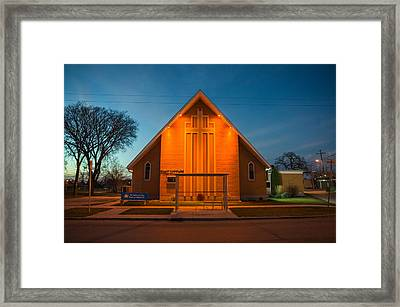 St. Mary Magdalene Anglican Framed Print by Bryan Scott