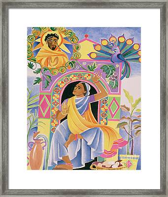 St. Mary Magdalene At The Tomb - Mmmmt Framed Print