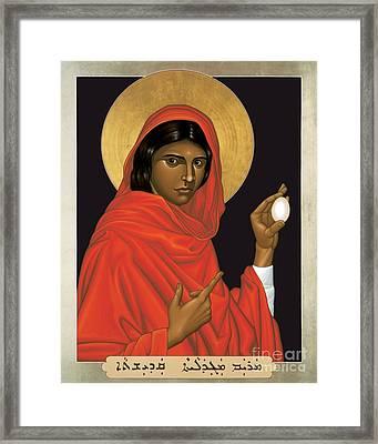 St. Mary Magdalene - Rlmam Framed Print
