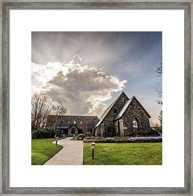 Rumple Memorial Presbyterian Framed Print by Cynthia Wolfe