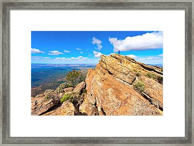 St Mary Peak Framed Print by Bill  Robinson