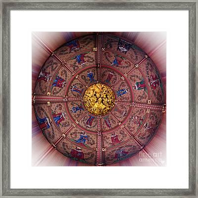 St Marys Beverley Yorks Roundel Framed Print