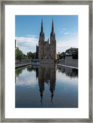 St Mary's Cathedral Framed Print