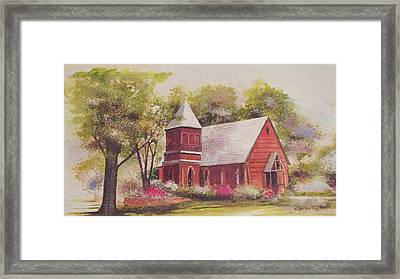 St. Mary's Chapel Framed Print by Charles Roy Smith