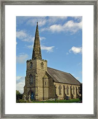 St Mary's Church - Coton In The Elms Framed Print