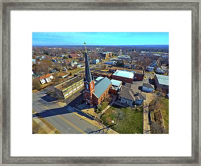St. Marys Framed Print by Dave Luebbert