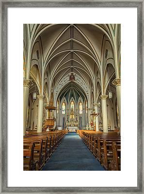 St Mary's Painted Church Framed Print