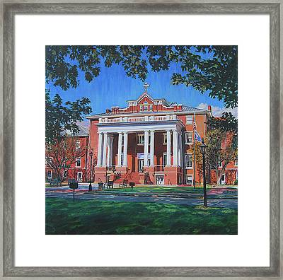 St Marys School Framed Print