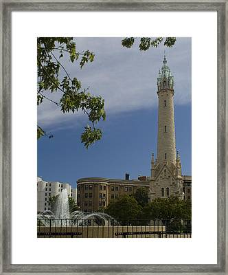 St Mary's Water Tower Framed Print