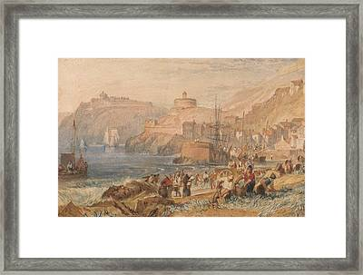 St Mawes Cornwall Framed Print by Joseph Mallord William Turner