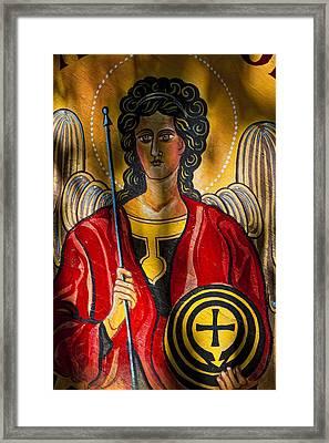 St. Michael  Framed Print by Robert Ullmann