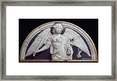 St. Michael The Archangel Framed Print by Granger
