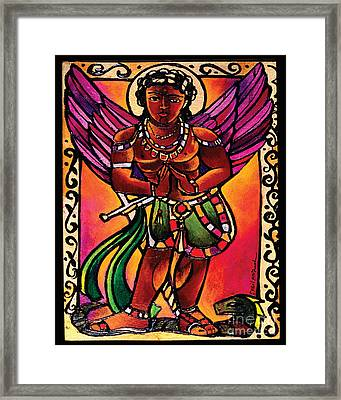 St. Michael The Archangel  - Mmmia Framed Print by Br Mickey McGrath OSFS
