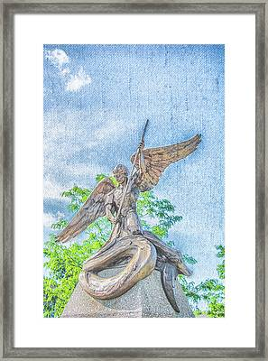 St Michael The Archangel Framed Print