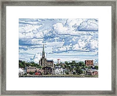 St Michaels Basilica Framed Print