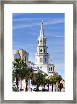St Michaels Church Charleston Sc 3 Framed Print