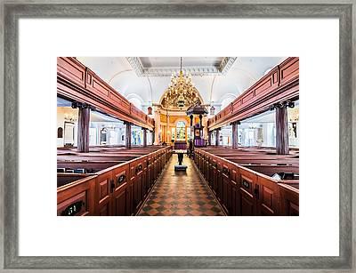 St. Michael's Framed Print by Drew Castelhano