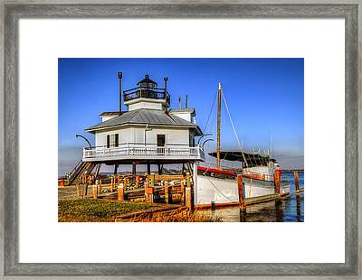 St Michaels Lighthouse Framed Print