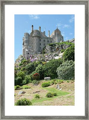 St Michael's Mount Castle II Framed Print by Helen Northcott