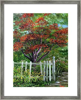 St. Michael's Tree Framed Print