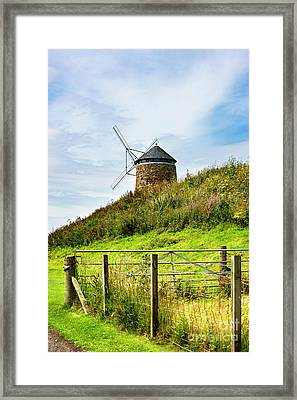 St Monans Landmark Framed Print by MaryJane Armstrong