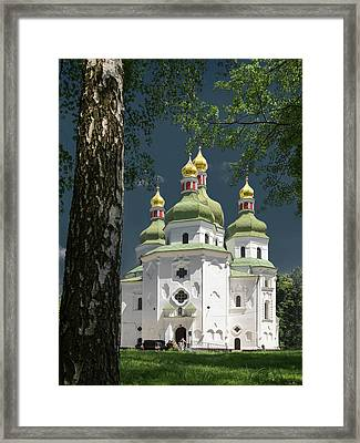 St. Nicholas Cathedral. Nizhyn, 2016. Framed Print