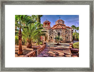 St. Nicholas Chapel Framed Print by Matt Suess