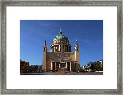 St. Nicholas' Church Framed Print by Christiane Schulze Art And Photography