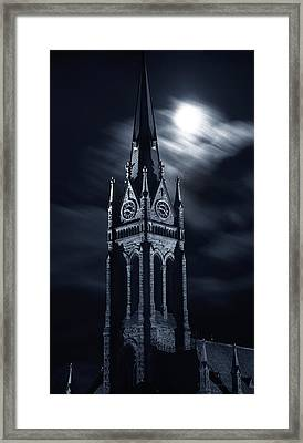 St Nicholas Church Wilkes Barre Pennsylvania Framed Print