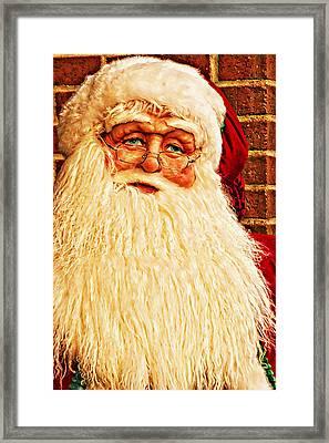 St. Nicholas Melting Canvas Photoart Framed Print