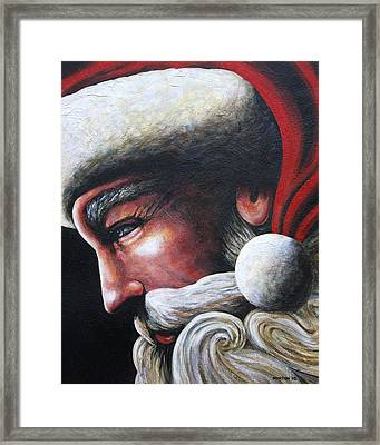 St. Nick Framed Print by Doug Norton