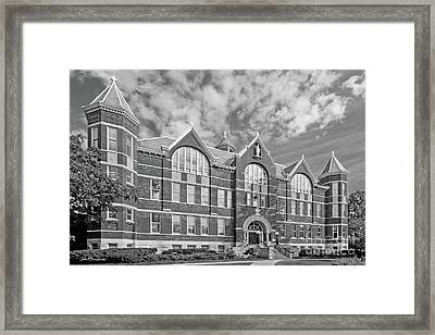 St. Norbert College Main Hall Framed Print