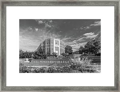 St Norbert College Framed Print