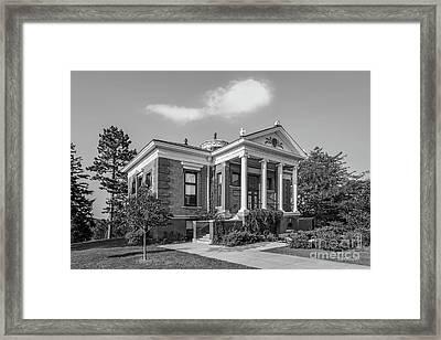 St. Olaf College Steensland Hall Framed Print