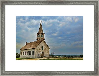 St Olafs Church Framed Print by Stephen Stookey