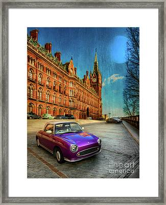 St. Pancras London Framed Print by Adrian Evans