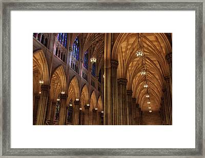 Framed Print featuring the photograph St. Patrick's Arches by Jessica Jenney