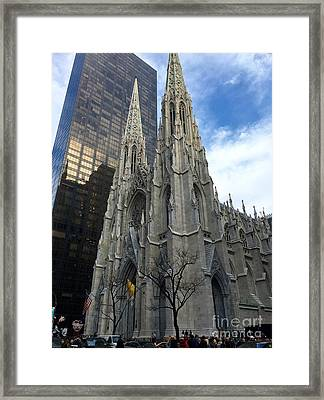 St. Patricks Cathedral Framed Print