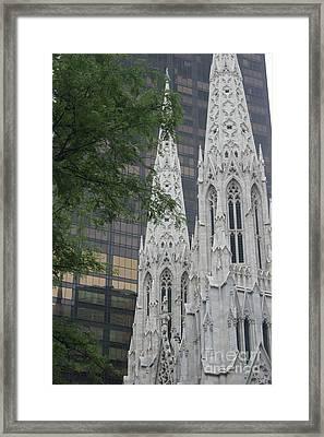 St Patricks Cathedral Framed Print