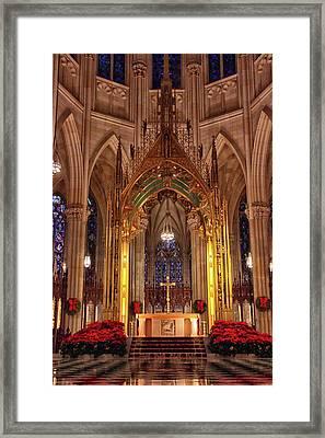 St. Patrick's Christmas Framed Print by Jessica Jenney