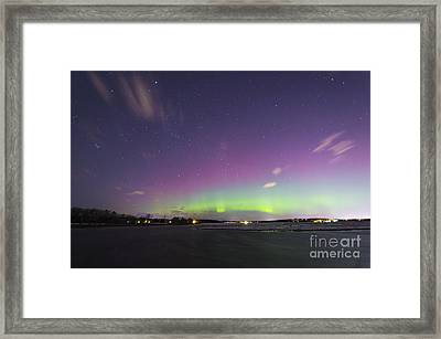 St. Patrick's Day Aurora 2015 Framed Print