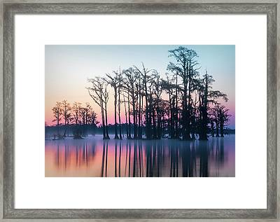 Framed Print featuring the photograph St. Patrick's Day Sunrise by Cindy Lark Hartman