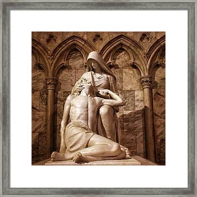 St Patrick's Pieta II Framed Print