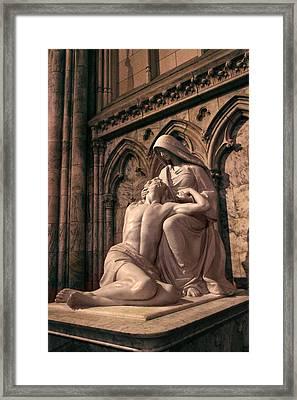 St Patrick's Pieta Framed Print