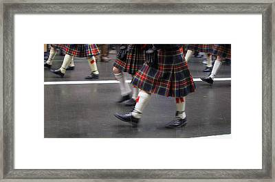 St Patty's  Framed Print by Dennis Curry