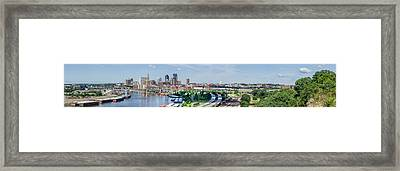 Framed Print featuring the photograph St. Paul by Dan Traun