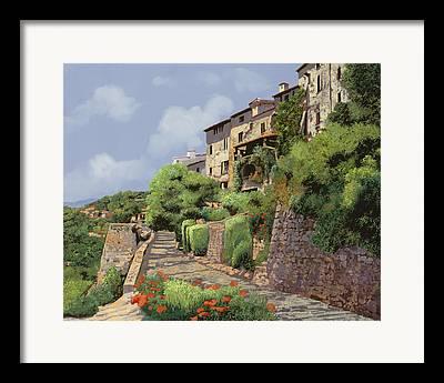 South France Framed Prints