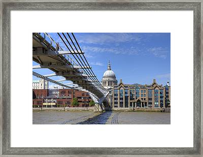 St Paul's Cathedral Framed Print by Joana Kruse