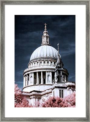 St. Paul's Cathedral's Dome, London Framed Print