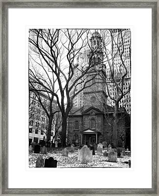 St. Paul's Chapel Framed Print by Jessica Jenney